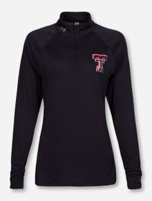 "Under Armour Texas Tech ""Zen"" Black Half Zip Pullover"