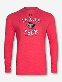 Under Armour Texas Tech Lone Star Pride Tri-Blend Red Long Sleeve Shirt
