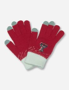 Texas Tech Magic Mountain Touchscreen Compatible Red Gloves