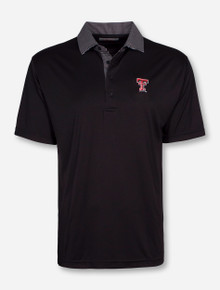 """Texas Tech """"Nine Iron"""" Black Polo"""