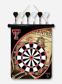 Texas Tech Dart Board