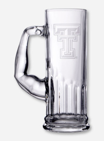 Texas Tech Double T Etched Muscle Mug