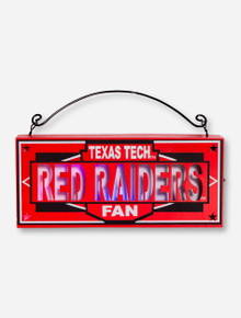 Texas Tech Red Raiders Light Up Box Sign
