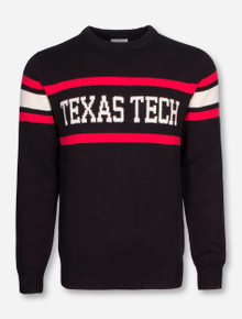 "Texas Tech ""Stadium"" Tri Color Sweater"