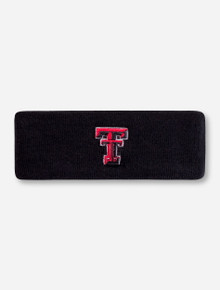 Top of the World Texas Tech Double T Black Headband