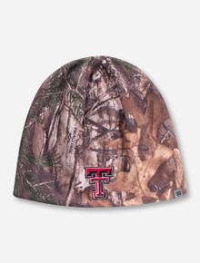 "Top of the World Texas Tech ""Forage"" RealTree Camo Beanie"