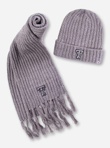 "Top of the World ""Two Below"" Scarf and Beanie"