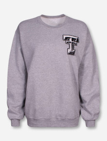 Livy Lu Texas Tech Cotton Tail Grey Sweatshirt