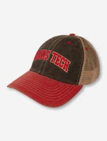 "Legacy Texas Tech Arch ""Old Favorite"" Mesh Snapback Cap"