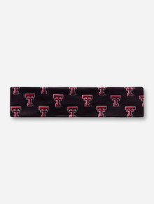 League Texas Tech Double T Black Stretch Headband