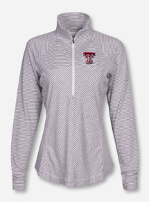 "Columbia Texas Tech ""Layer First"" Women's Half Zip Pullover"