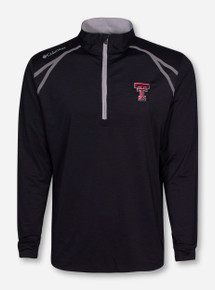 "Columbia Texas Tech ""Zinger"" Quarter Zip Pullover"
