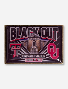Texas Tech 2016 Black Out Game Day Collector's Pin