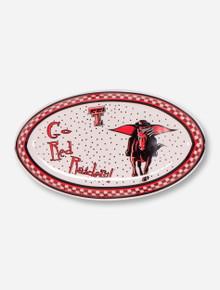 Texas Tech Gameday Ceramic Platter