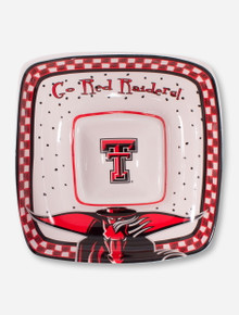 Texas Tech Go Red Raiders Chip N' Dip Dish