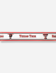 Texas Tech Red Raiders White Wall Border