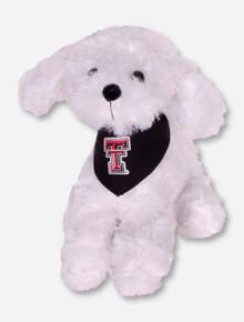Texas Tech Bichon Plush Toy