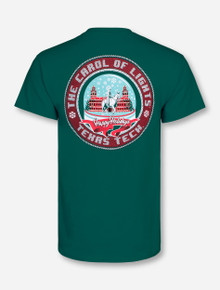 Texas Tech Carol of Lights Celebration Green T-Shirt