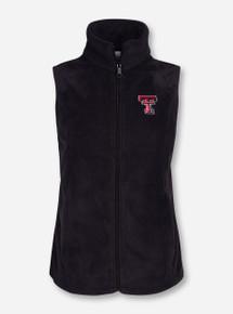 """Columbia Texas Tech """"Denton Springs"""" Women's Fleece Vest"""