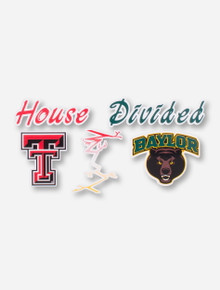 House Divided: Tech/Baylor Decal