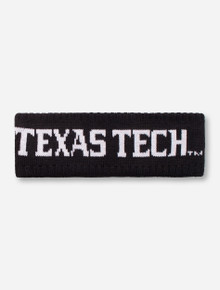 "Zephyr Texas Tech ""Halo"" Black Headband"