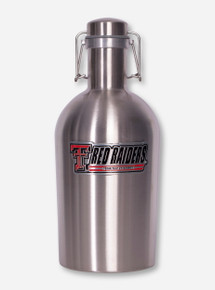 Texas Tech Growler Beverage Jug