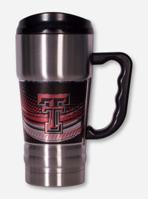"Texas Tech ""Champ"" Graphic Wrap Travel Mug"