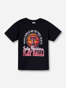 Texas Tech Mall or Ball YOUTH Black T-Shirt