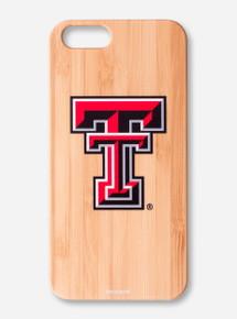 Texas Tech Bamboo iPhone Case