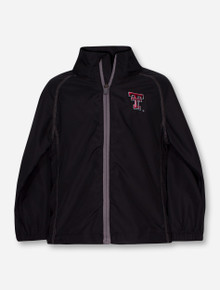 "Garb Texas Tech ""Griffin"" TODDLER Black Wind Breaker"