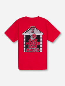 Texas Tech Our House Our Rules YOUTH Red T-Shirt