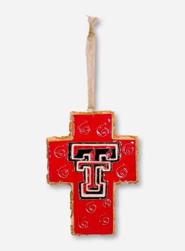Kitty Keller Texas Tech Red Raiders Double T Cross Ornament