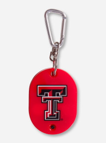 Texas Tech Musical Fight Song Double T Key Chain