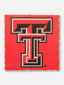 Texas Tech Highland Graphics Tumbled Stone Double T Trivet