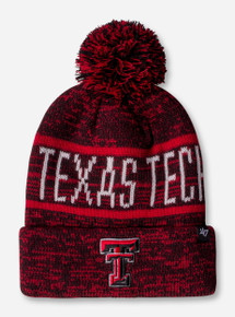 47 Brand Texas Tech Northmont Red Cuff Beanie