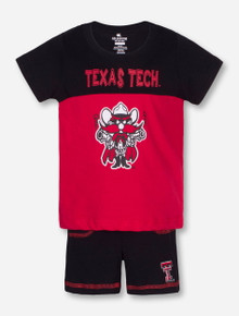 Arena Texas Tech Giddy Up INFANT Shirt and Short Set