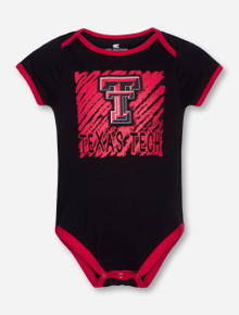 Arena Texas Tech Look At the Baby INFANT Bib and Onesie Set