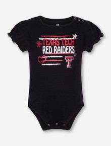 Arena Texas Tech Friends INFANT Black Onesie