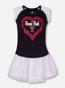 Arena Texas Tech Princess TODDLER Shirt and Tutu Skirt Set
