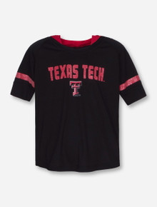 Arena Texas Tech Umbrella GIRL'S Hooded Short Sleeve T-Shirt