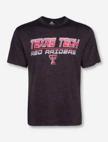Arena Texas Tech Dip Heather Charcoal T-Shirt