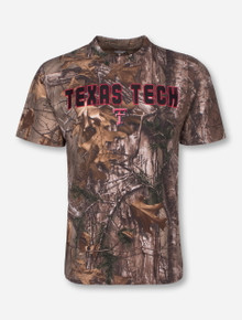 Arena Texas Tech Cover Trail RealTree Camo T-Shirt