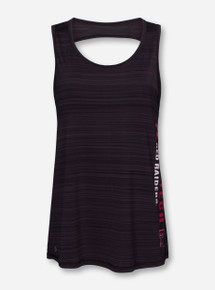 Arena Texas Tech Twisted Black Yoga Top