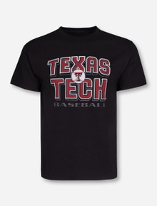 "Texas Tech Baseball ""Batting Practice"" Black T-Shirt"