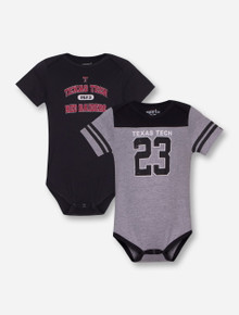 "Garb Texas Tech ""Tommy"" Set of 2 INFANT Onesies"