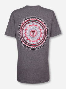 "Texas Tech ""Tapestry"" Heather Grey Triblend T-Shirt"