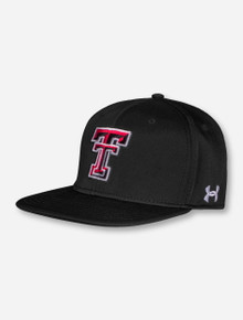 "Under Armour Texas Tech 2017 ""On the Field"" Black Fitted Cap"