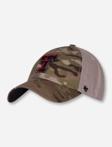 "47 Brand Texas Tech ""Sumner Clean Up"" Adjustable Camo Cap"