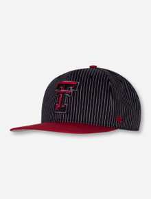 "47 Brand Texas Tech ""Woodside Hue Captain"" Black Snapback Cap"