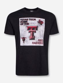 "Texas Tech ""Knockaround"" Heather Charcoal Club T-Shirt"